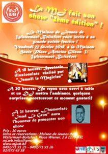 La Maison des Jeunes fait son show - 2ème édition! @ Maison Haute | Watermael-Boitsfort | Bruxelles | Belgique