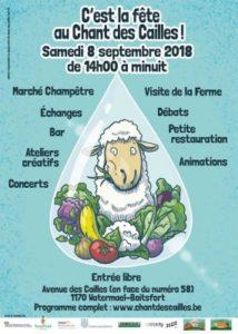 Fête du Chant des Cailles @ Chant des Cailles | Watermael-Boitsfort | Bruxelles | Belgique
