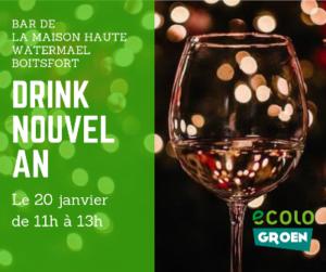 Drink de Nouvel An @ Maison Haute